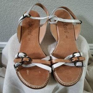 Kickers Wedge Sandals